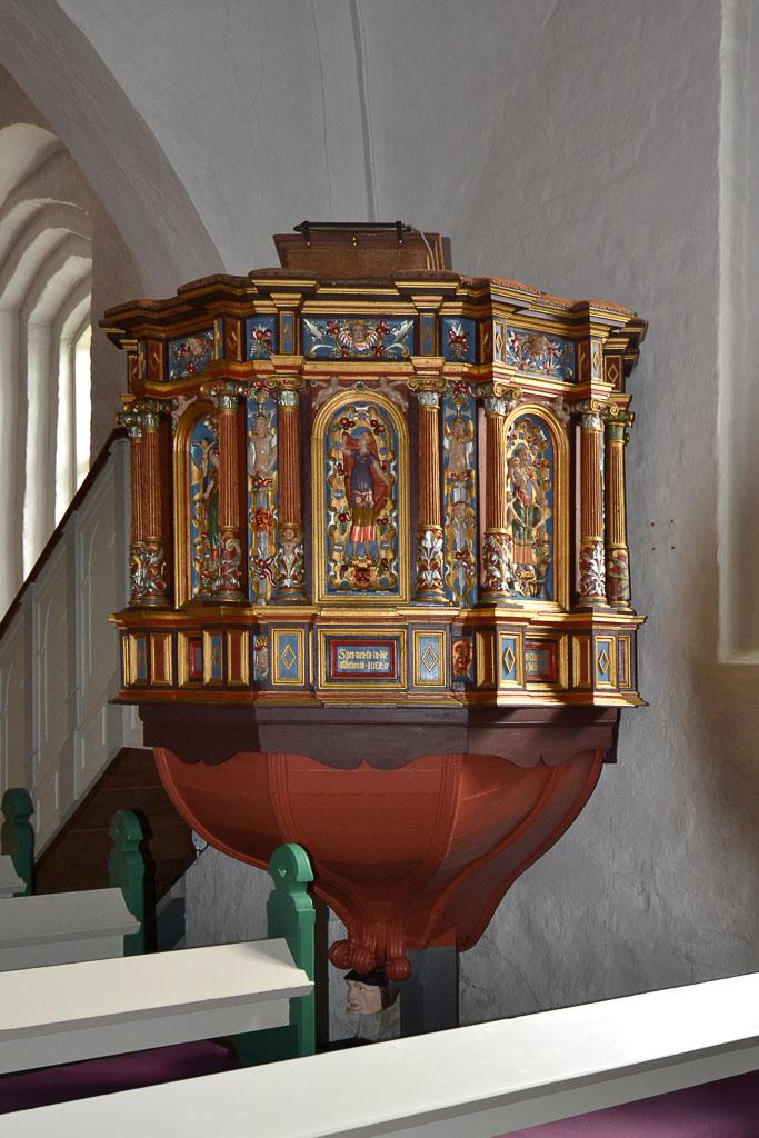Prædikestolen Vissenbjerg Kirke