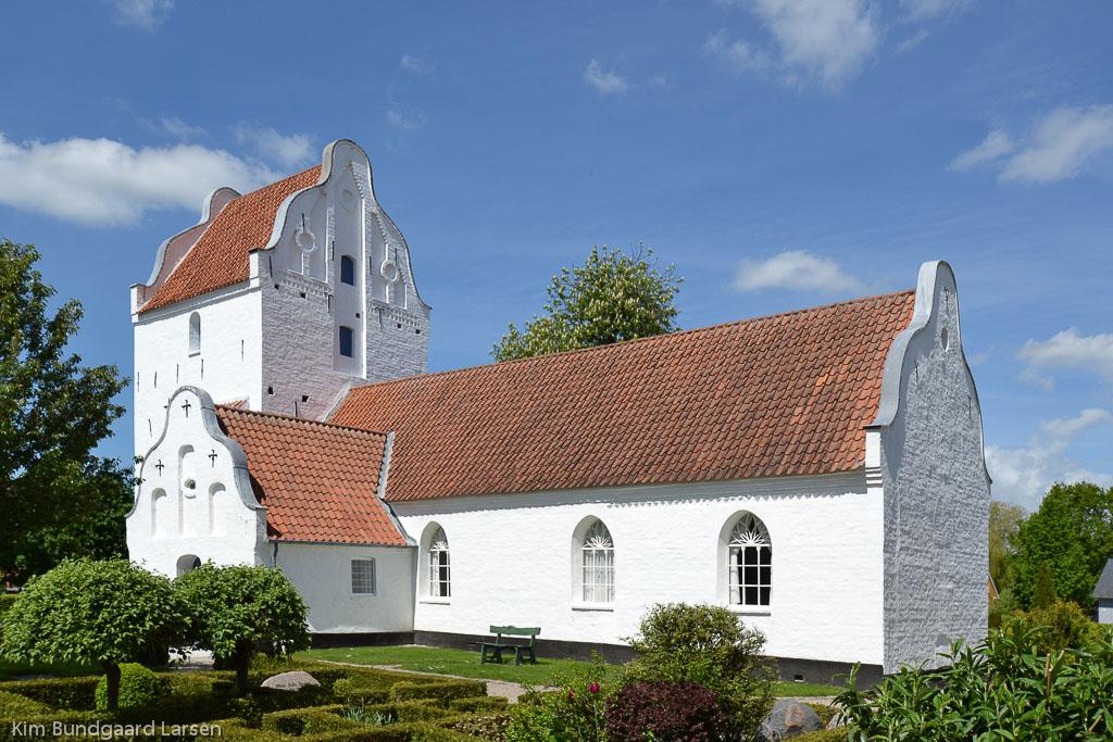 Højby Kirke ved Odense foto 2
