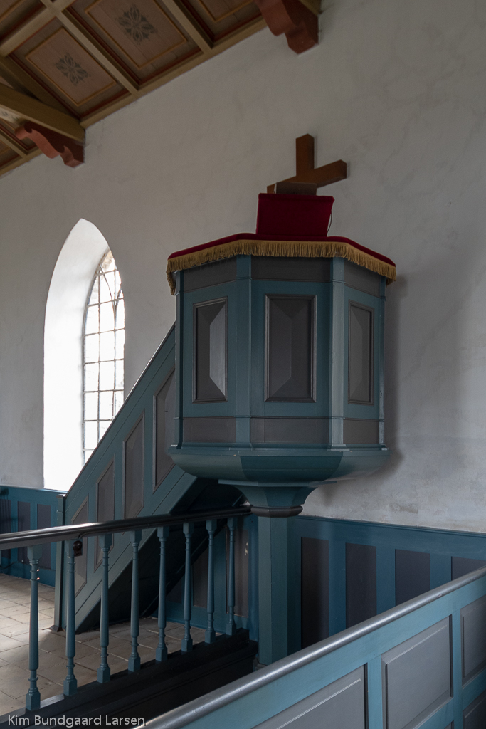 Prædikestol i Bågø Kirke